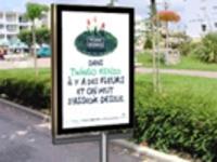 panneaux publicitaires affiche fixe ou déroulante Batiweb