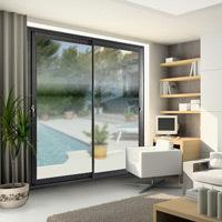 C70 - Baie vitrée coulissante Aluminium - Batiweb