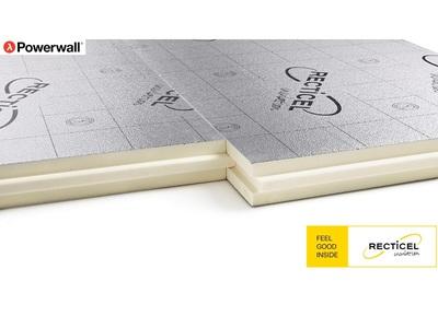 Powerwall®, le panneau ultra-mince sous bardage, en bâtiment résidentiel et non résidentiel Batiweb