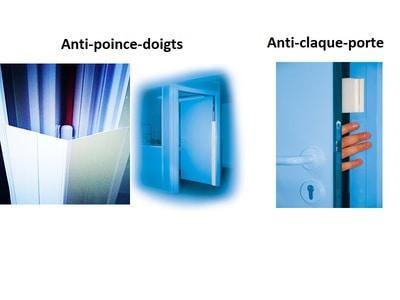 Anti pince doigts Brevetés universels - Fabrication 100% française certifiée - Vente directe Batiweb