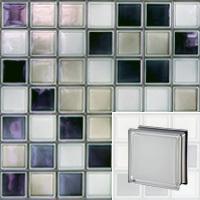 La brique de verre WHITE 100% Q19 T MET