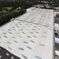Rhenofol®: membrane d'étanchéité pour toiture terrasse - Batiweb