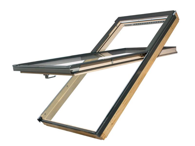 Fenêtre de toit FAKRO rotation réhaussée - Batiweb
