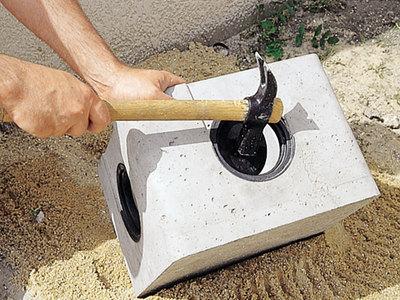 Boite eaux pluviales à opercules plastique Batiweb