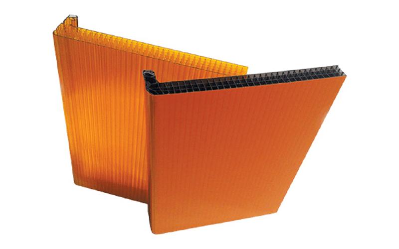 DANPALON® double, pour façades et couvertures translucides - Batiweb