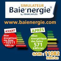 Calculateur économies d'énergie : Baie'nergie® Batiweb