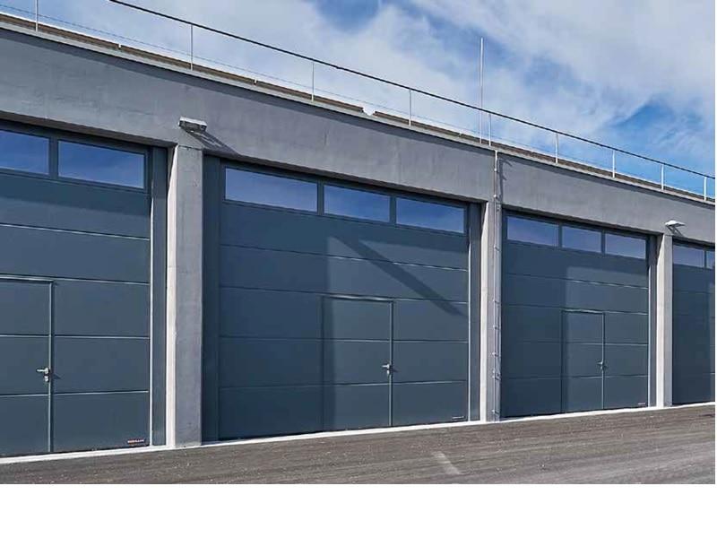 Portes sectionnelles industrielles Hormann - Batiweb