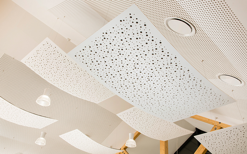 Rigitone® Design : pour des plafonds acoustiques et esthétiques - Batiweb