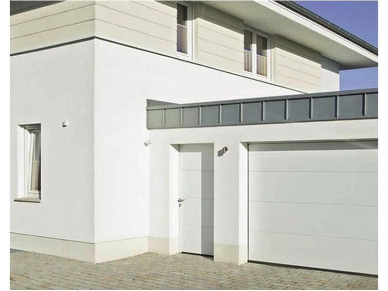 Pour chaque porte de garage, un portillon indépendant assorti