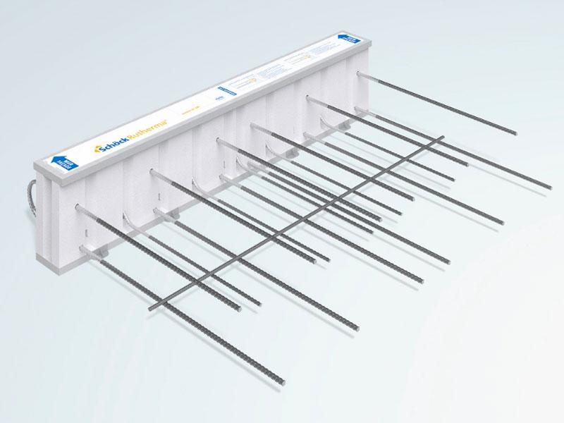 Rupteur de ponts thermiques Schöck Rutherma® type DF