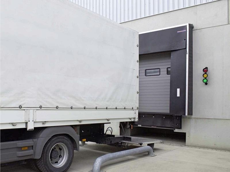 Les abris de quai Hörmann Système Dock Control - Batiweb