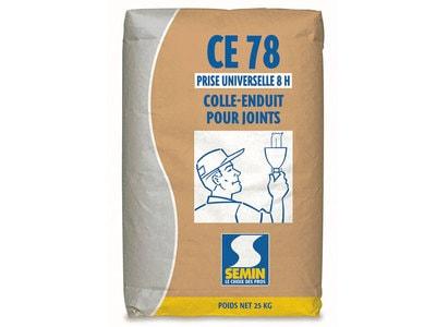 CE 78 UNIVERSELLE : colle-enduit pour joints de plaques de plâtre. Batiweb
