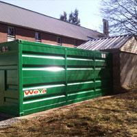 WEYA BOX : votre chaufferie bois en container prête à chauffer
