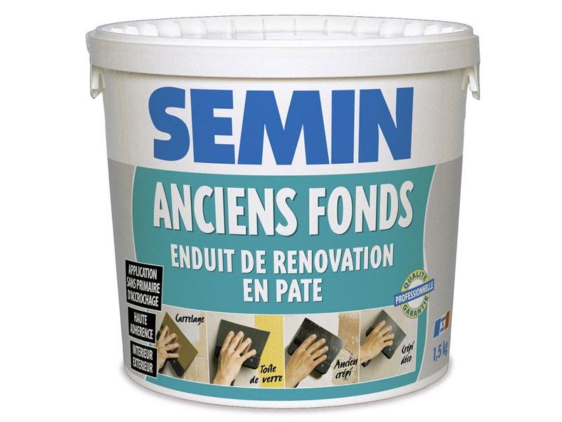 ANCIENS FONDS : Enduit de rénovation extérieur et intérieur - Batiweb