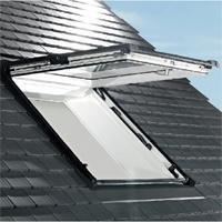 Designo R8 : fenêtre de toit bois ou PVC à ouverture projetante 45°