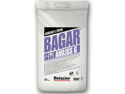 BAGAR AIRLISS G - Enduit de dégrossissage spécial airless Batiweb