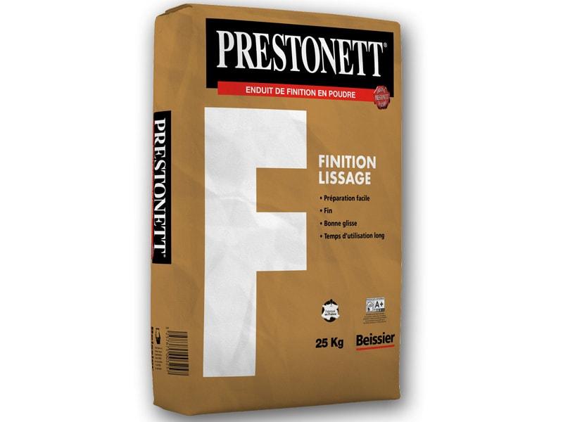 PRESTONETT F - Enduit de finition - Batiweb