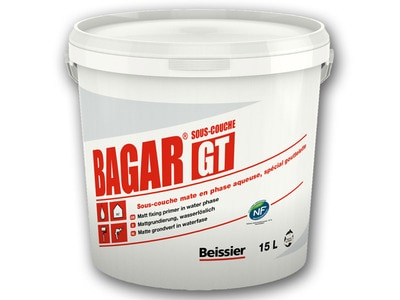 Enduit BAGAR GT - Enduit de finition gouttelette Batiweb