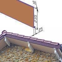 Bandeau de rive métallique GERARD®