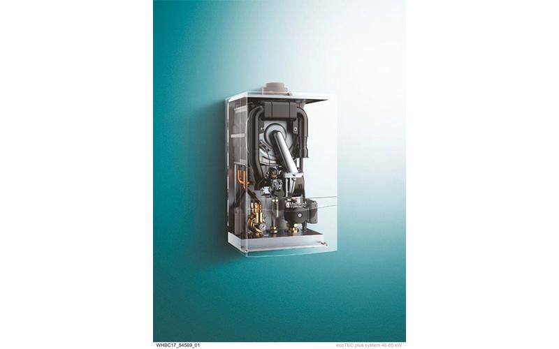 ecoTEC plus systèmes 48 à 120 kW, les chaudières à condensation pour la chaufferie - Batiweb