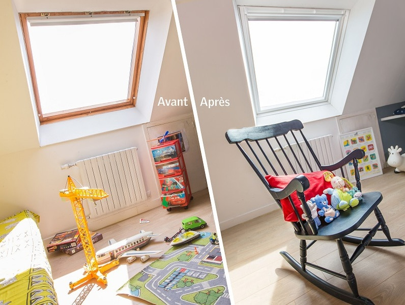 Raccords pour le remplacement des fenêtres de toit VELUX