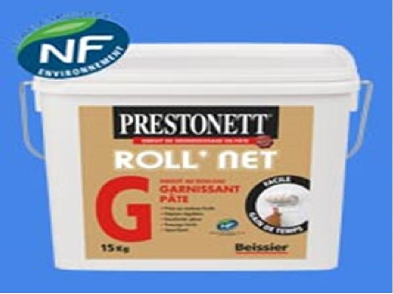ROLL'NET G - Enduit de dégrossissage spécial rouleau - Batiweb