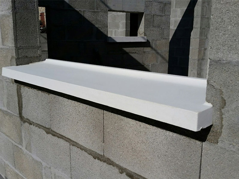 Les appuis de baie PBM en béton - Batiweb