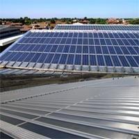 Joint debout autoportant à intégration photovoltaïque Riverclack® solaire Batiweb