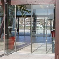 Portes pivotantes - pivot pour porte en verre - Batiweb