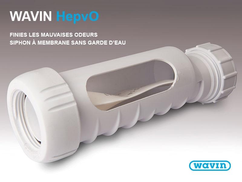 Siphon à membrane - Wavin HepvO - Batiweb