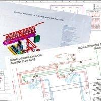 Impressions et plastifications de plans Batiweb