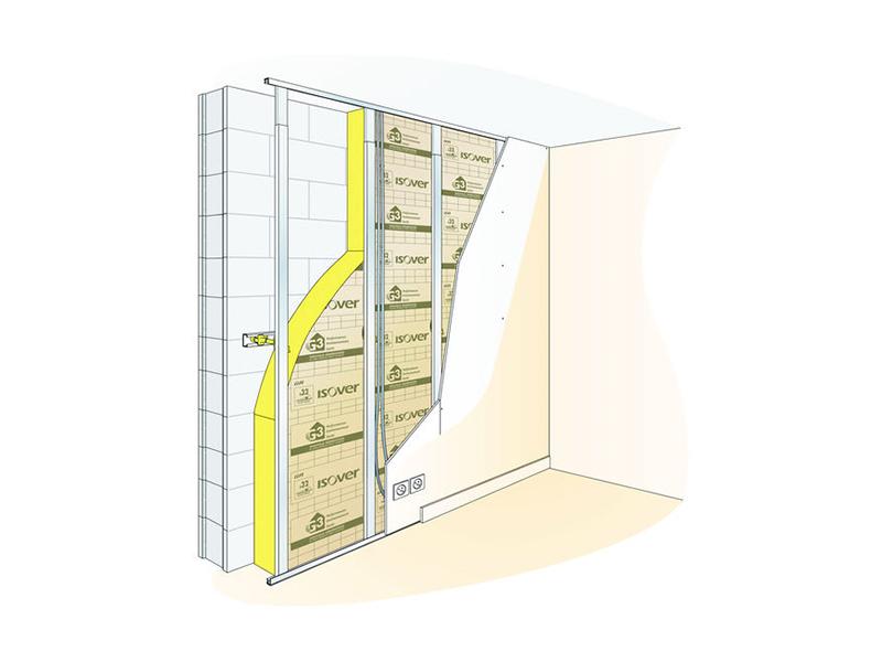OPTIMA Murs : le système d'isolation par l'intérieur performant - Batiweb