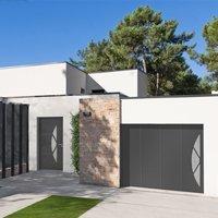 Porte d'entrée aluminium, porte de garage et portail de clôture CRAZY - Batiweb