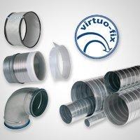 Composants aérauliques - Gamme Virtuo-fix 2 Batiweb