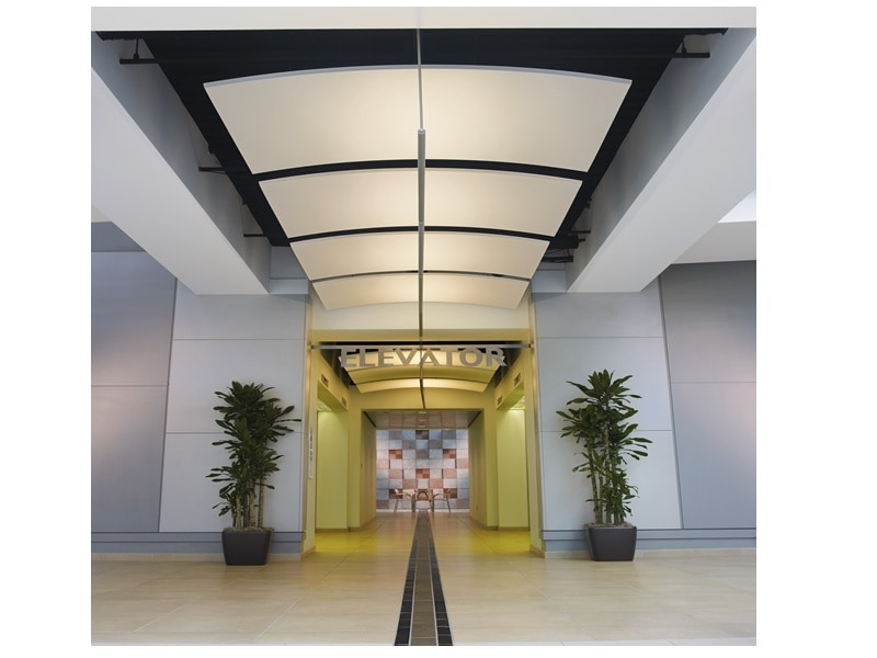 Plafond OPTIMA CURVED CANOPY - Batiweb