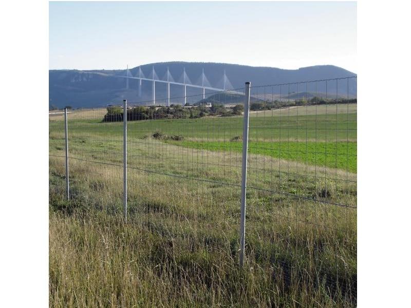 Grillage soudé clôture Rempart Lourd - Batiweb