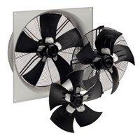 Ventilateurs hélicoïdes pour la climatisation et le froid : HyBlade®