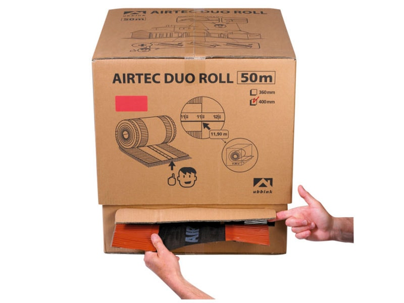 Carton dérouleur closoir AIRTEC ROLL - Batiweb