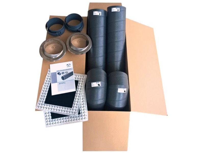 Kit de raccordement Ubbink pour chauffe-eau thermodynamiques (Ø160) - Batiweb
