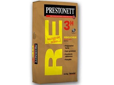 PRESTONETT RE3h – Reboucheur Extérieur à séchage rapide Batiweb