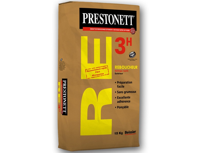 PRESTONETT RE3h – Reboucheur Extérieur à séchage rapide