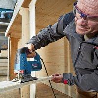 Nouvelles scies sauteuses GST 160 CE/BCE Professional Bosch avec guidage de la lame par double galet