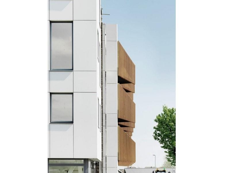 fibreC concrete skin – panneaux de façades en béton armé de fibres de verre