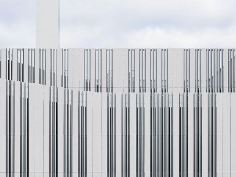 Panneaux de façades en béton armé de fibres de verre - fibreC concrete skin - Batiweb