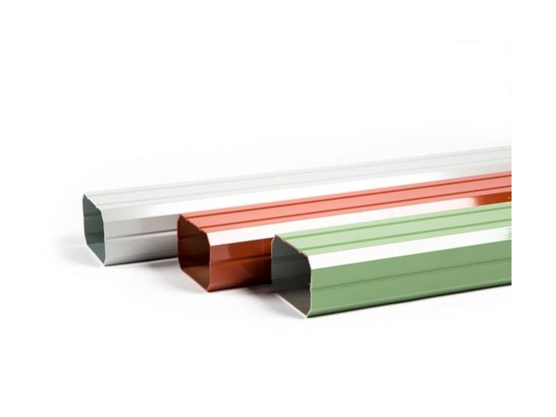 Dauphin - Tuyau aluminium prélaqué - Batiweb