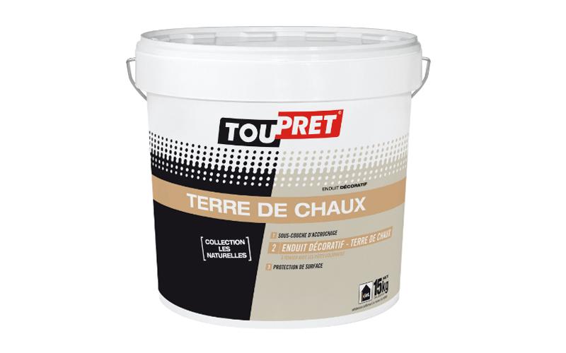 TOUPRET TERRE DE CHAUX, enduit décoratif - Batiweb