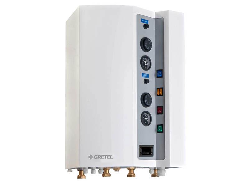 Chaudière électrique 2 zones BIZON de 6 à 18 Kw - Batiweb