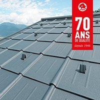 Tuiles en aluminium - Batiweb