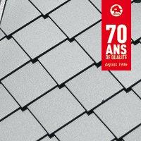 Losanges de façade en aluminium