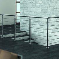 CROSILUX® POTEAUX DE GARDE-CORPS, système innovant de poteaux pour des créations et des conceptions